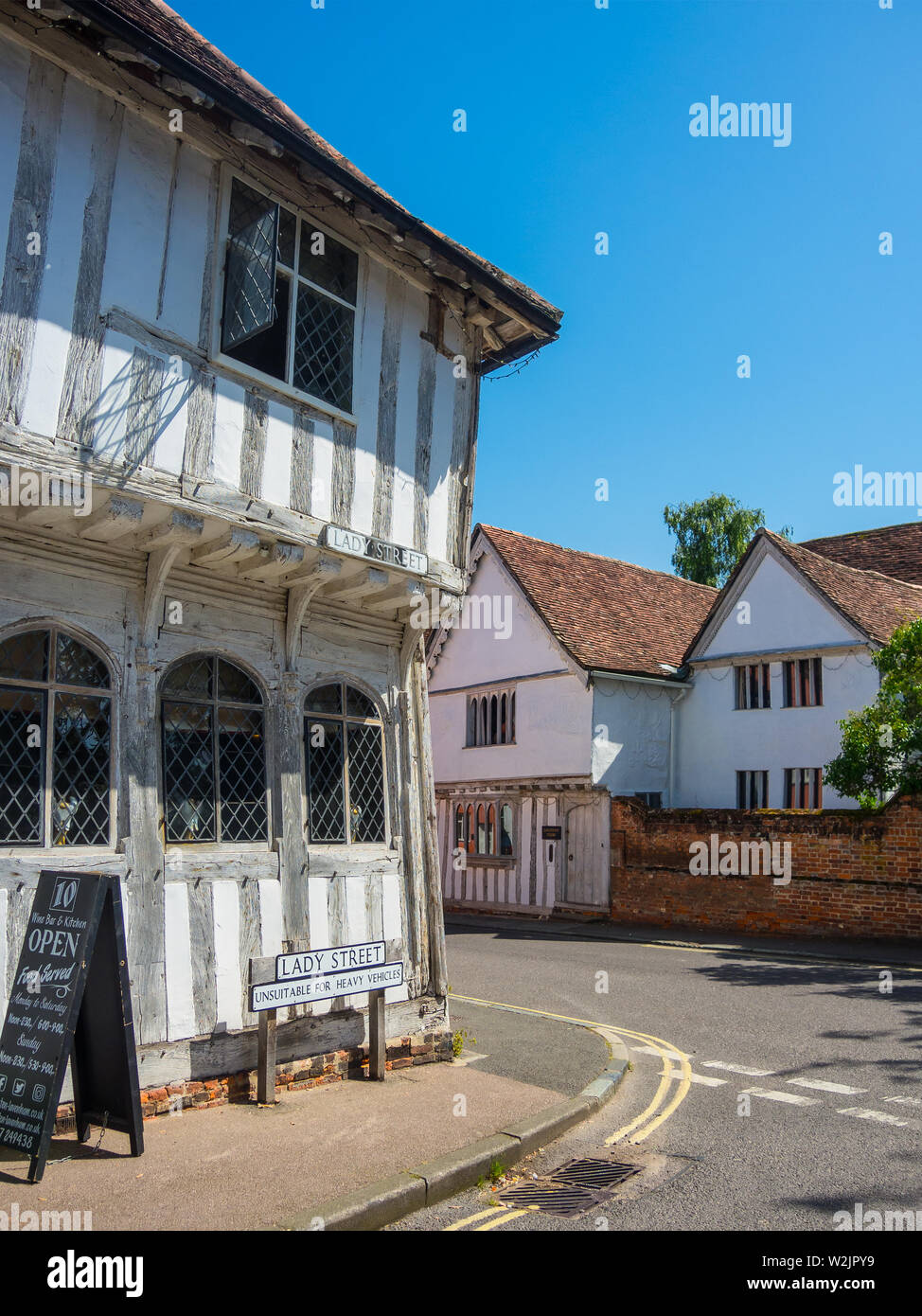 Lavenham Village - Stock Image