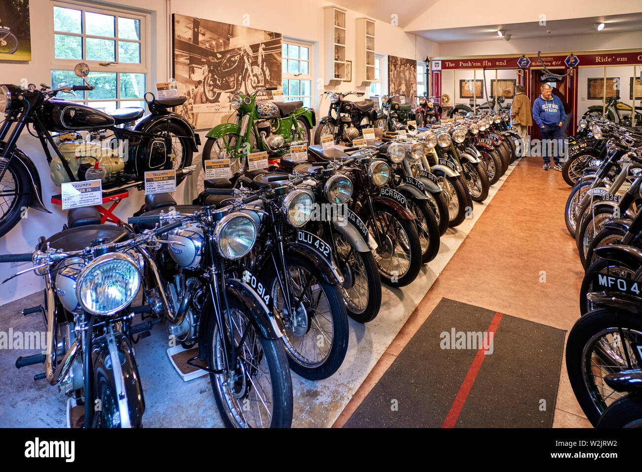 Motorcycle Museum Stock Photos & Motorcycle Museum Stock