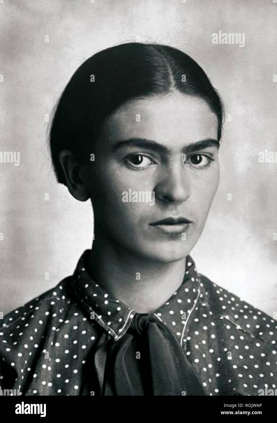 Frida Kahlo (1907 – 1954) Mexican painter, Kahlo in 1926 - Stock Image
