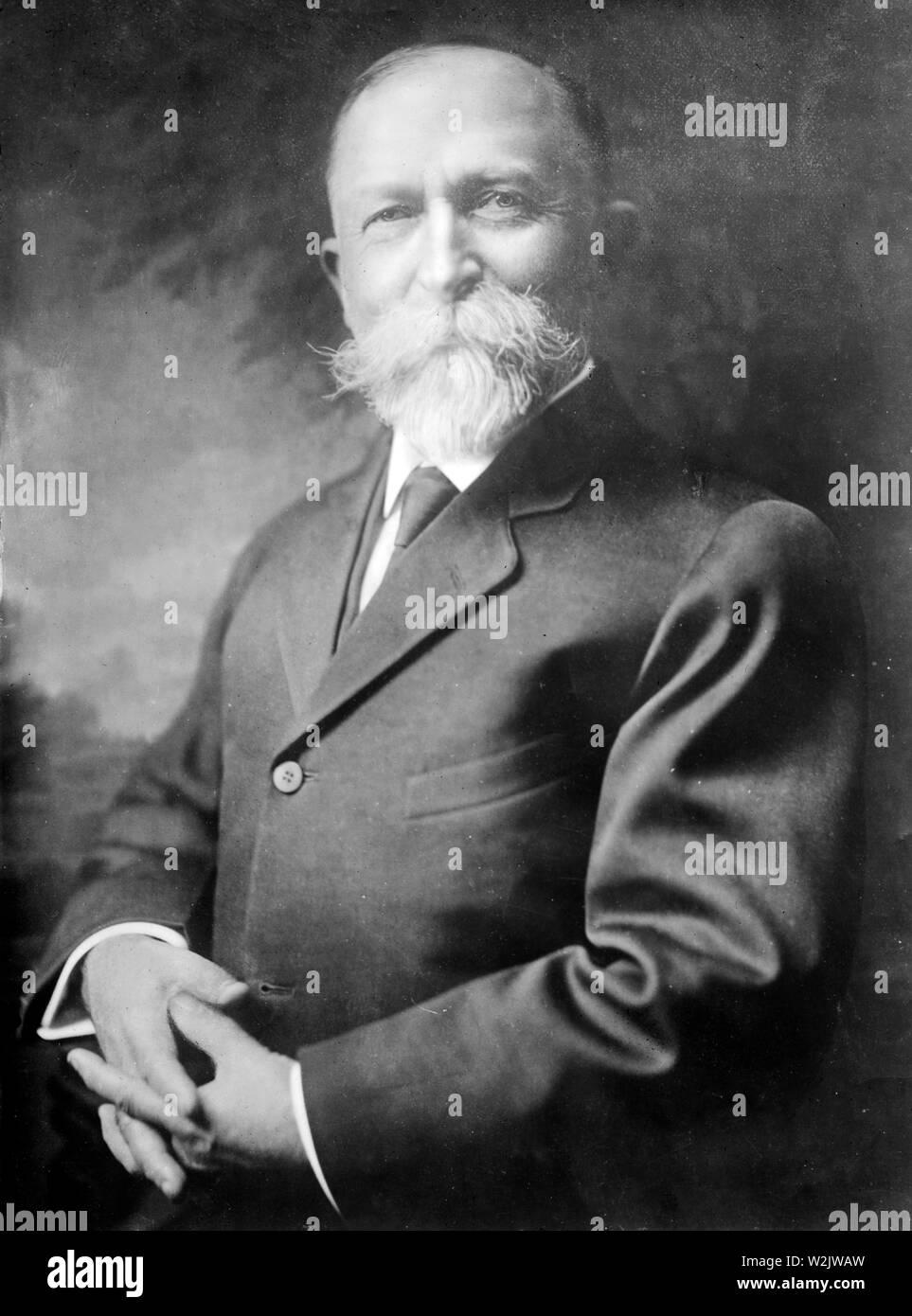 John Harvey Kellogg, co-founder of the Kellogg Company, John Harvey Kellogg (1852 – 1943) American businessman - Stock Image