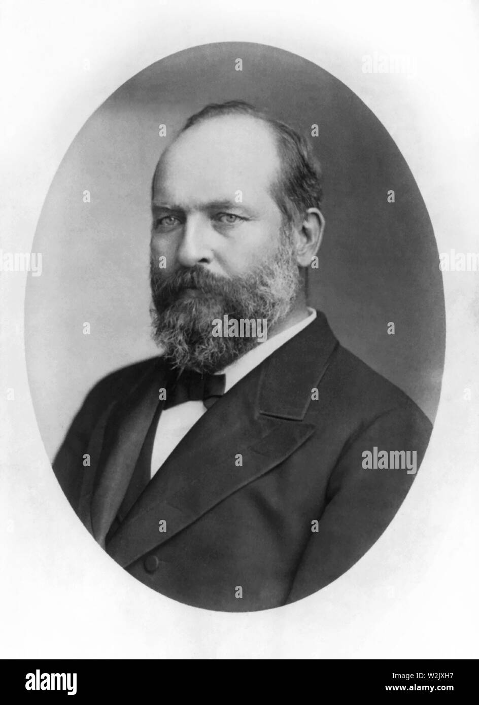 Garfield Photo Print Standing portrait of 20th United States President James A
