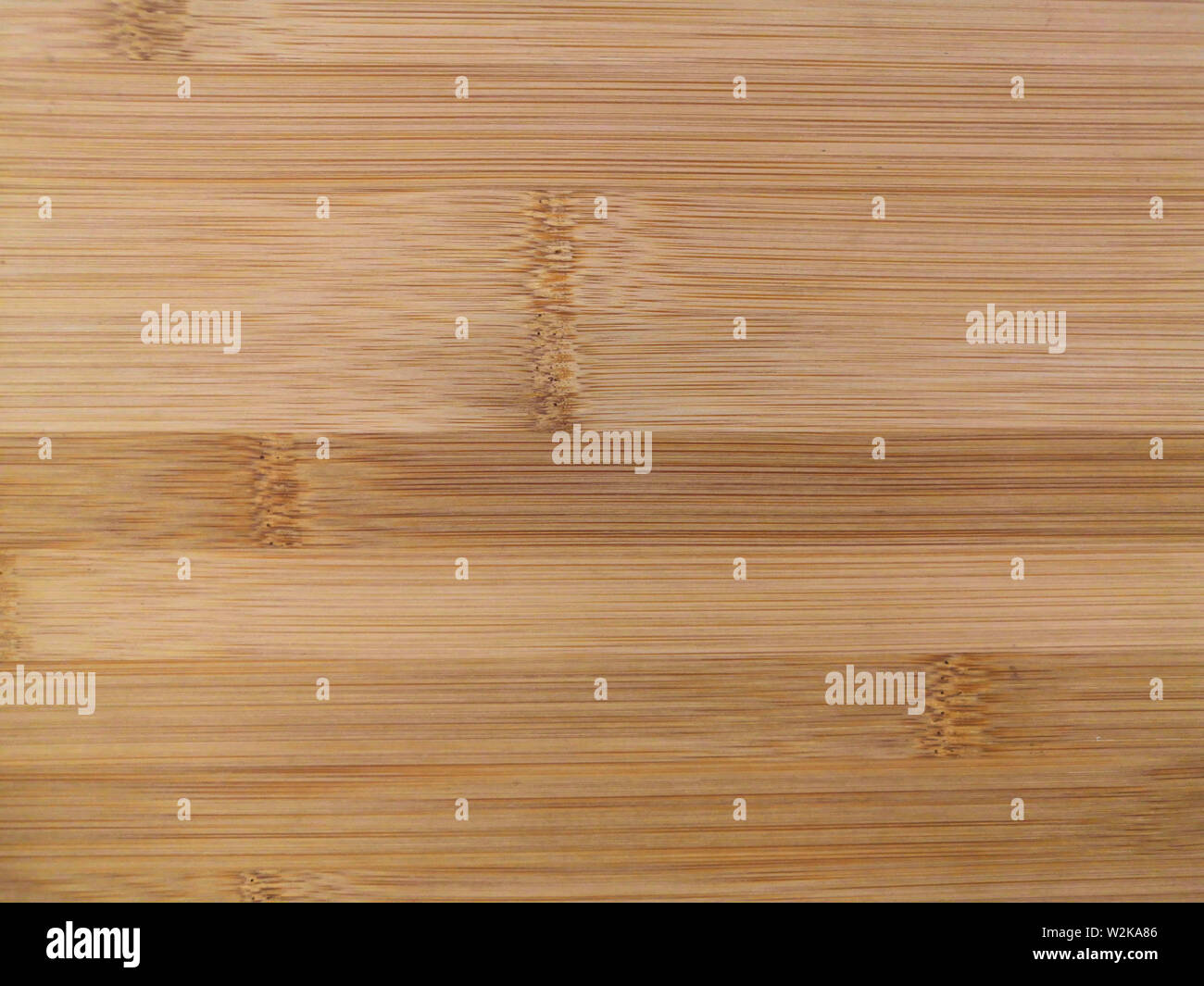 Bamboo Cutting Board Texture, Wooden Background - Stock Image