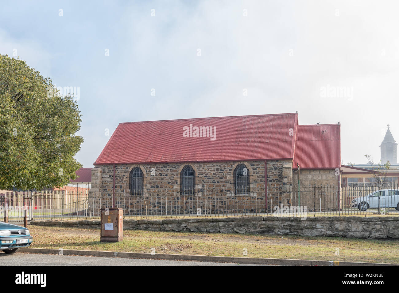STANDERTON, SOUTH AFRICA - MAY 2, 2019: A Pentecostal Church in Standerton, in the Mpumalanga Province - Stock Image