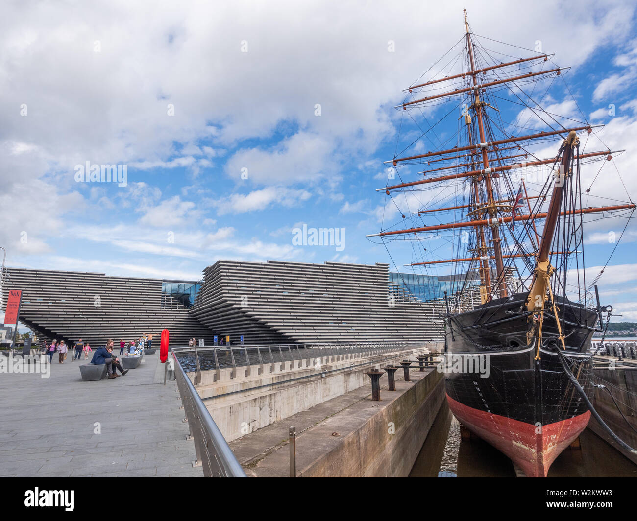 V&A Museum Dundee & RRS Discovery Stock Photo