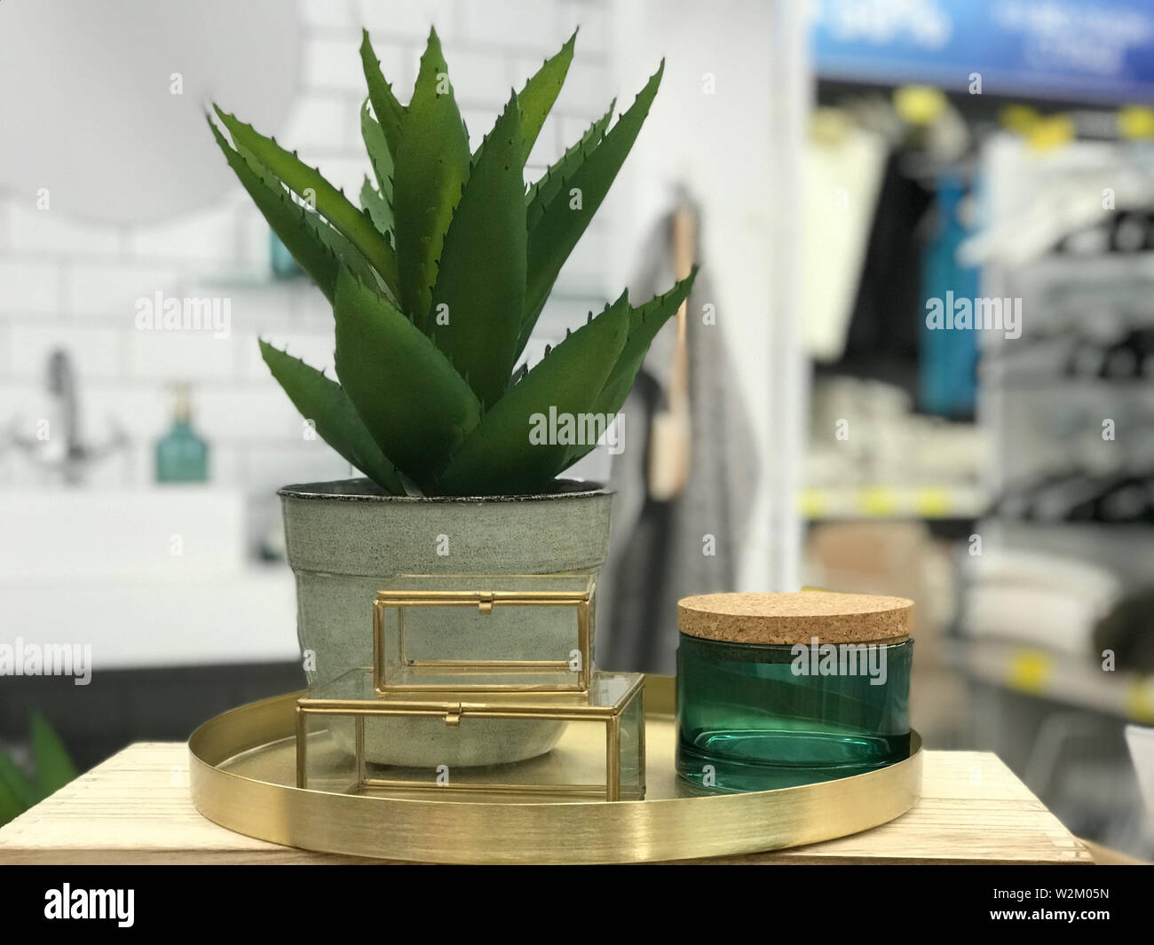 Herbal Skin Care Cosmetics And Beauty Concept With Plant Minimal Creative Layout Template Or Banner Branding Mock Up Stock Photo Alamy