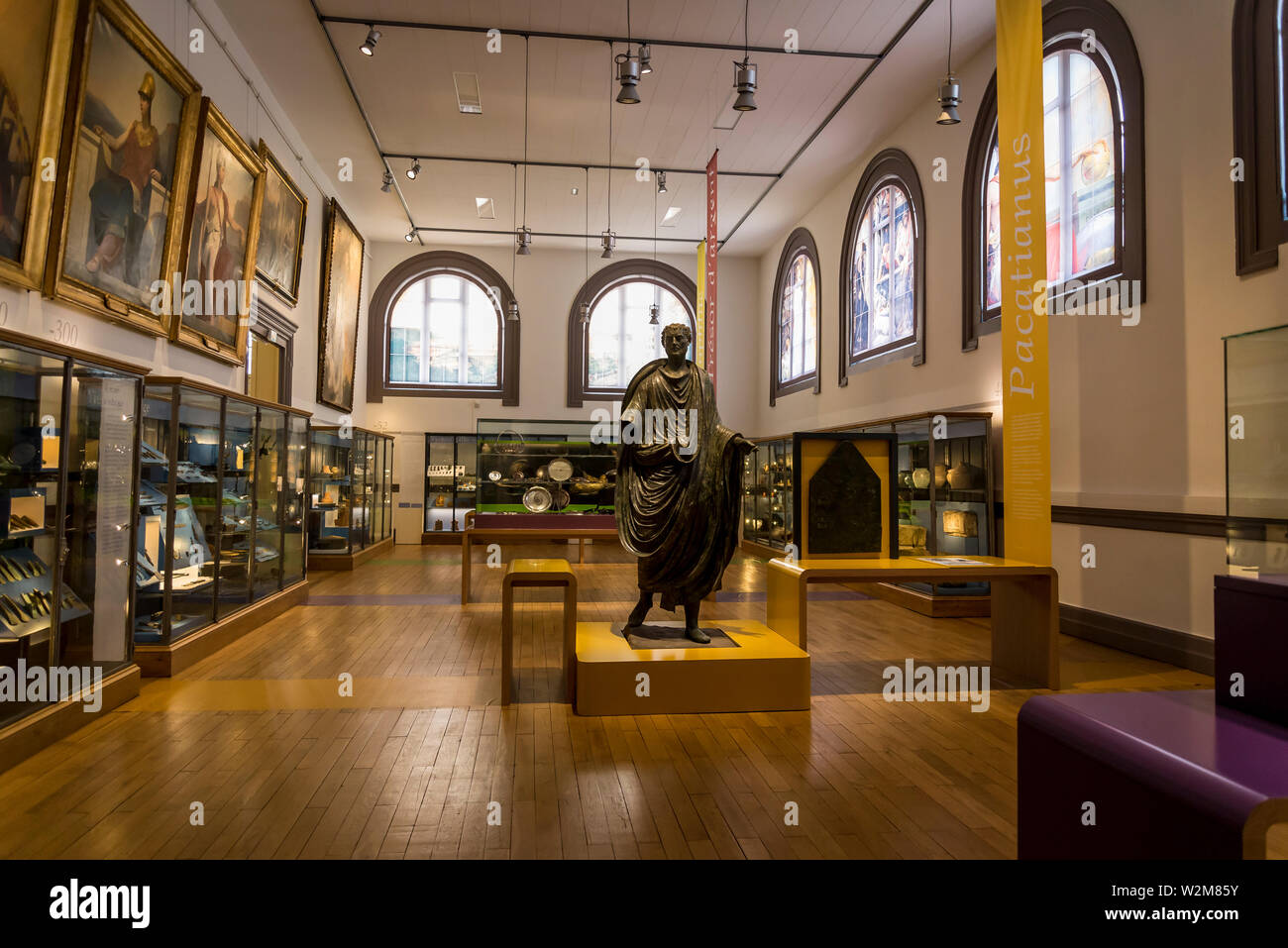 Interior of the Museum of Fine Arts and Archeology, Vienne, France Stock Photo