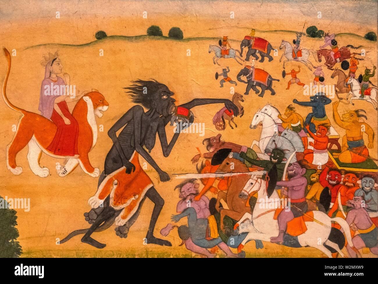 The Demon Kali Stock Photos & The Demon Kali Stock Images