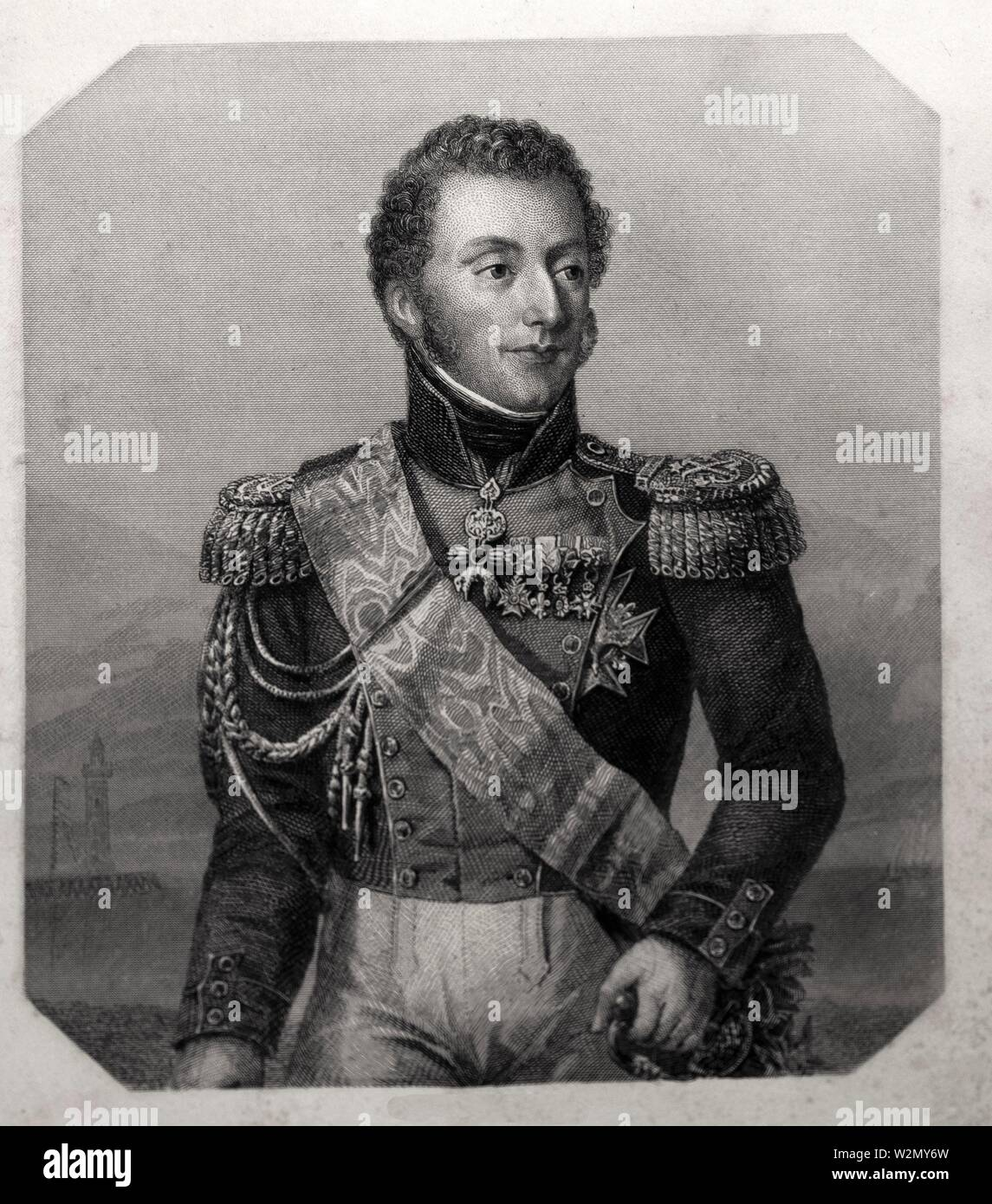 Duc d´Angoulème -. Charles X (Charles Philippe; 9 October 1757-6 November 1836) was King of France from 16 September 1824 until 2 August 1830. For - Stock Image