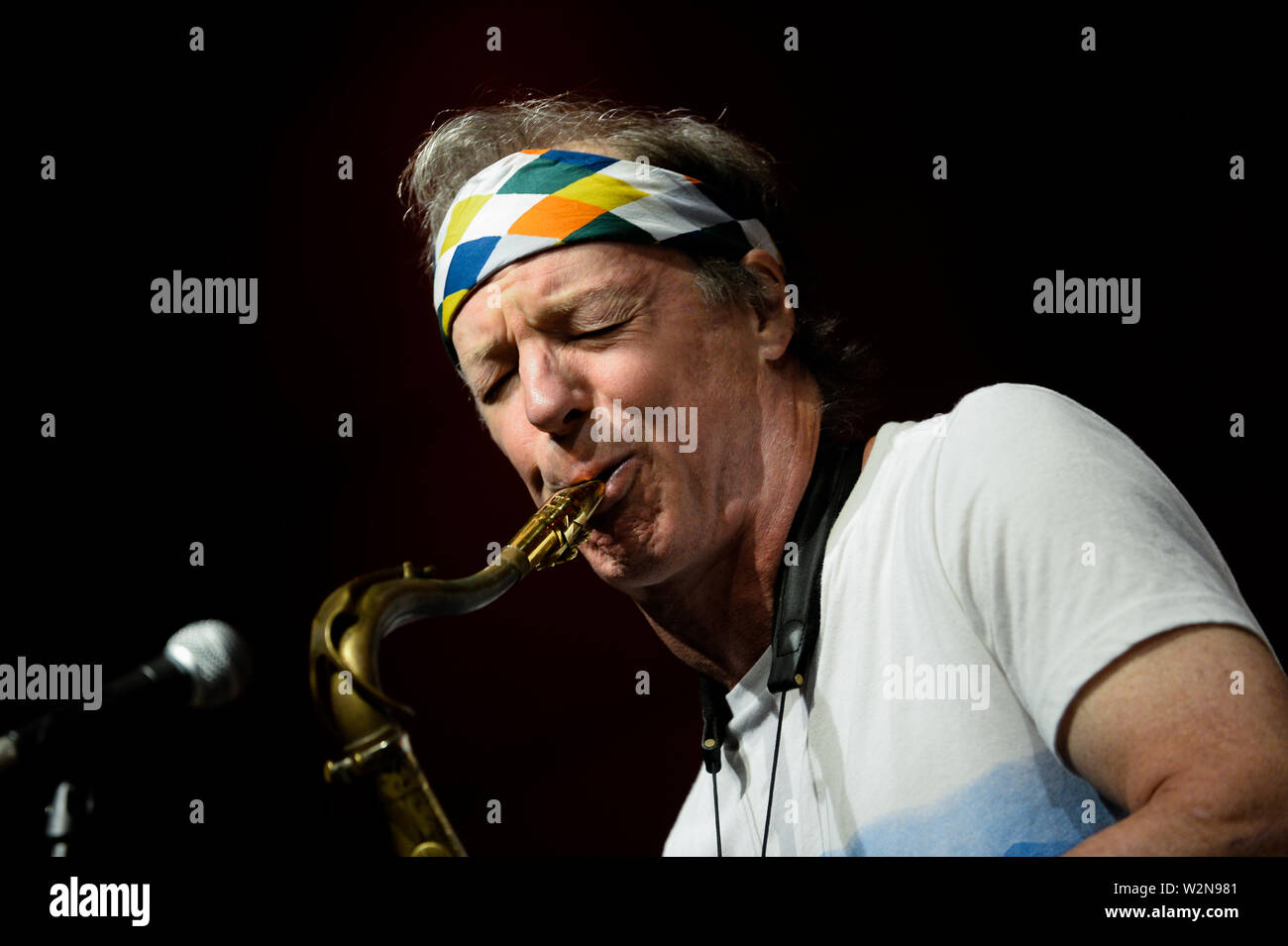 Krakow, Poland  09th July, 2019  Grammy winner American saxophonist