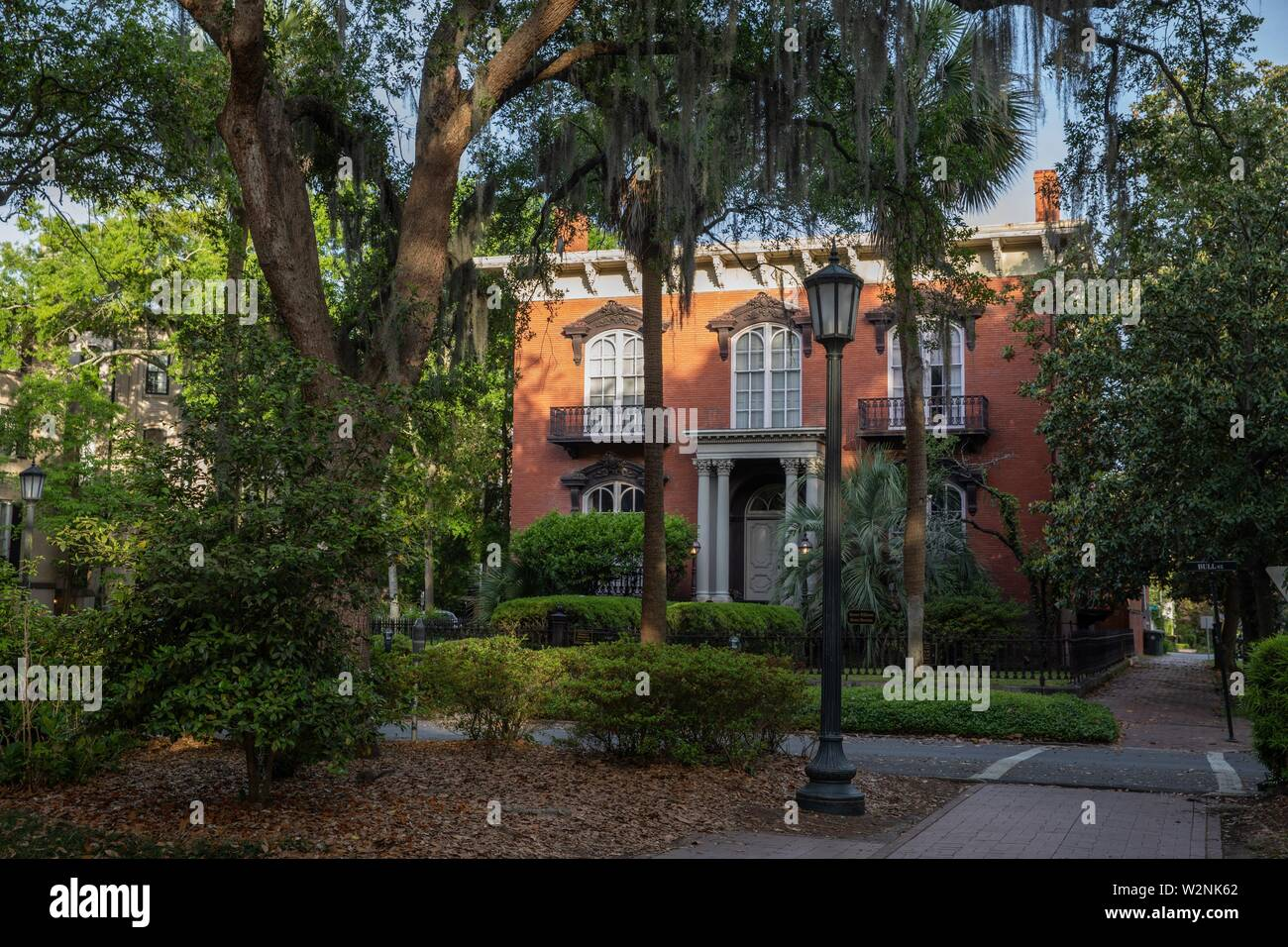 Mercer house Monterey square Jim Williams Midnight in the garden of good and evil. - Stock Image