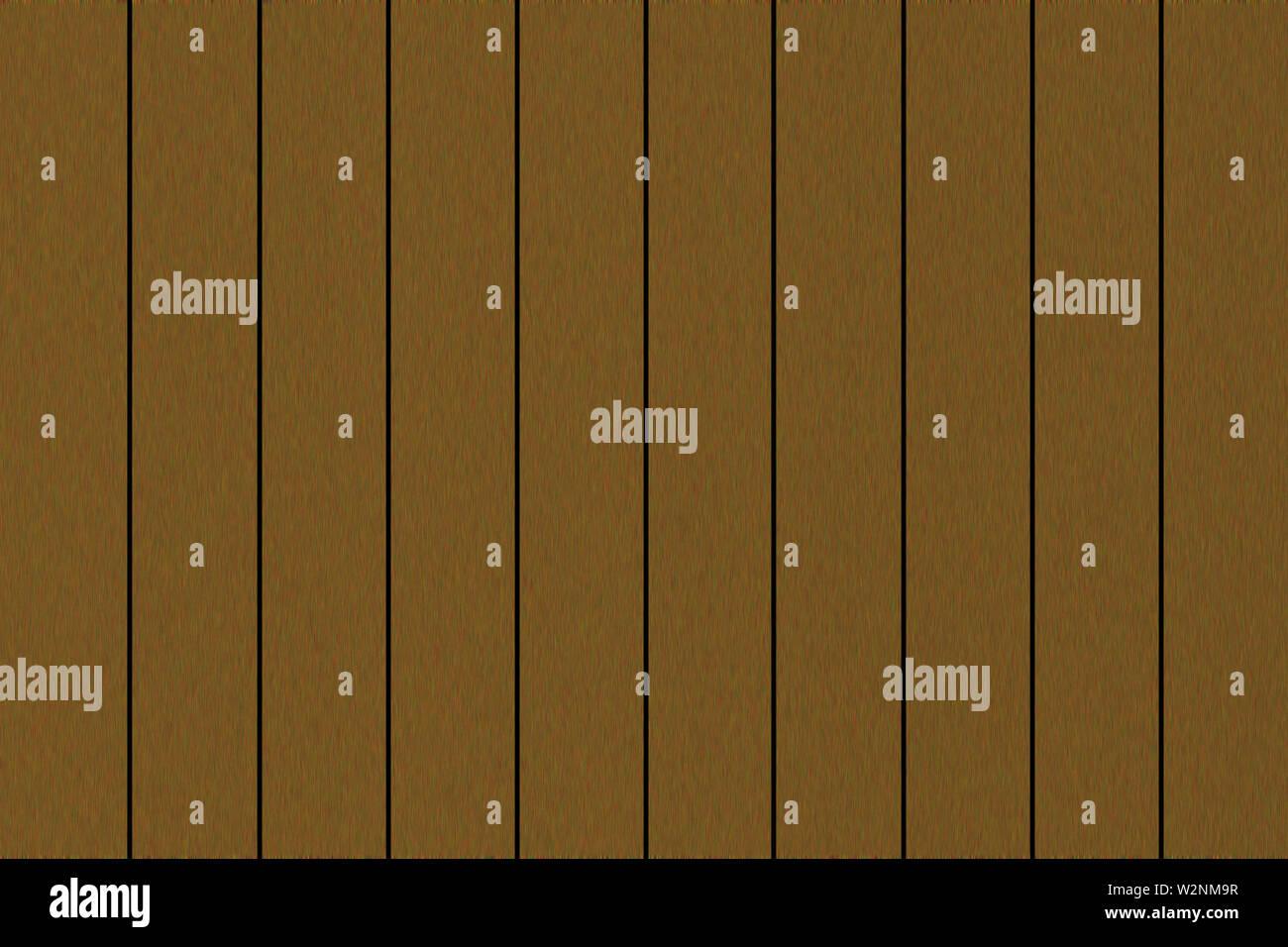 Illustration. Plate of imitation wood plank . Filled frame. - Stock Image