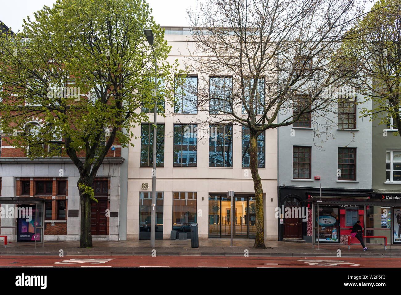 Cork City, Cork, Ireland. 06th April, 2019. Exterior of the brand new eighty5 building on the South Mall in Cork, Ireland. - Stock Image