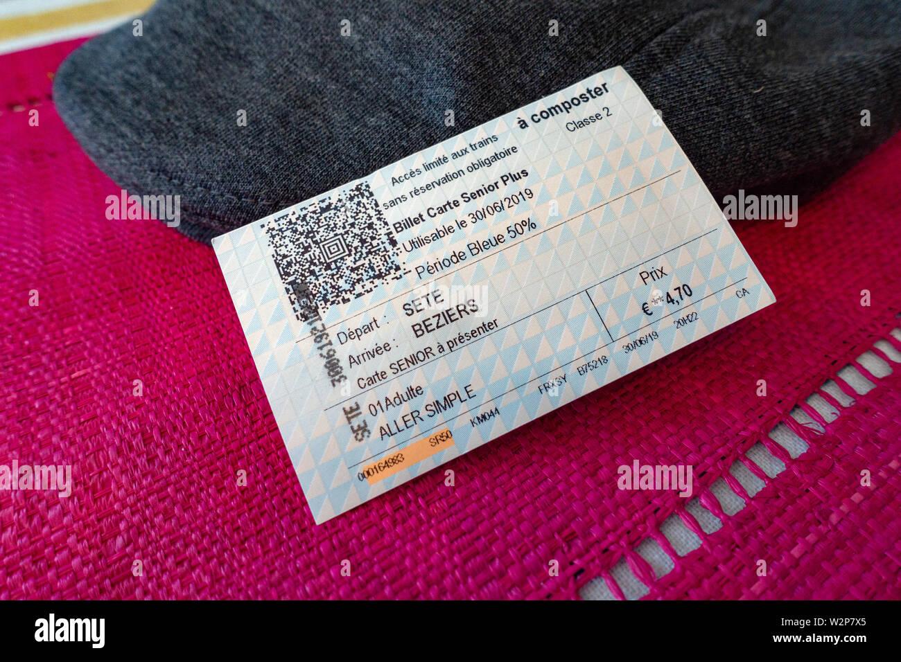 carte senior plus sncf Senior Citizen railway ticket including discount for SNCF Railway