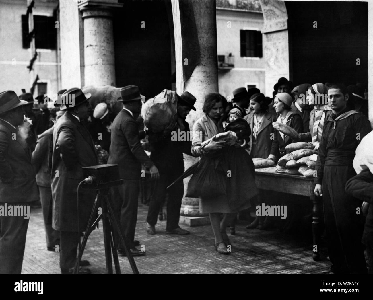 lazio, littoria, 1920-30 - Stock Image
