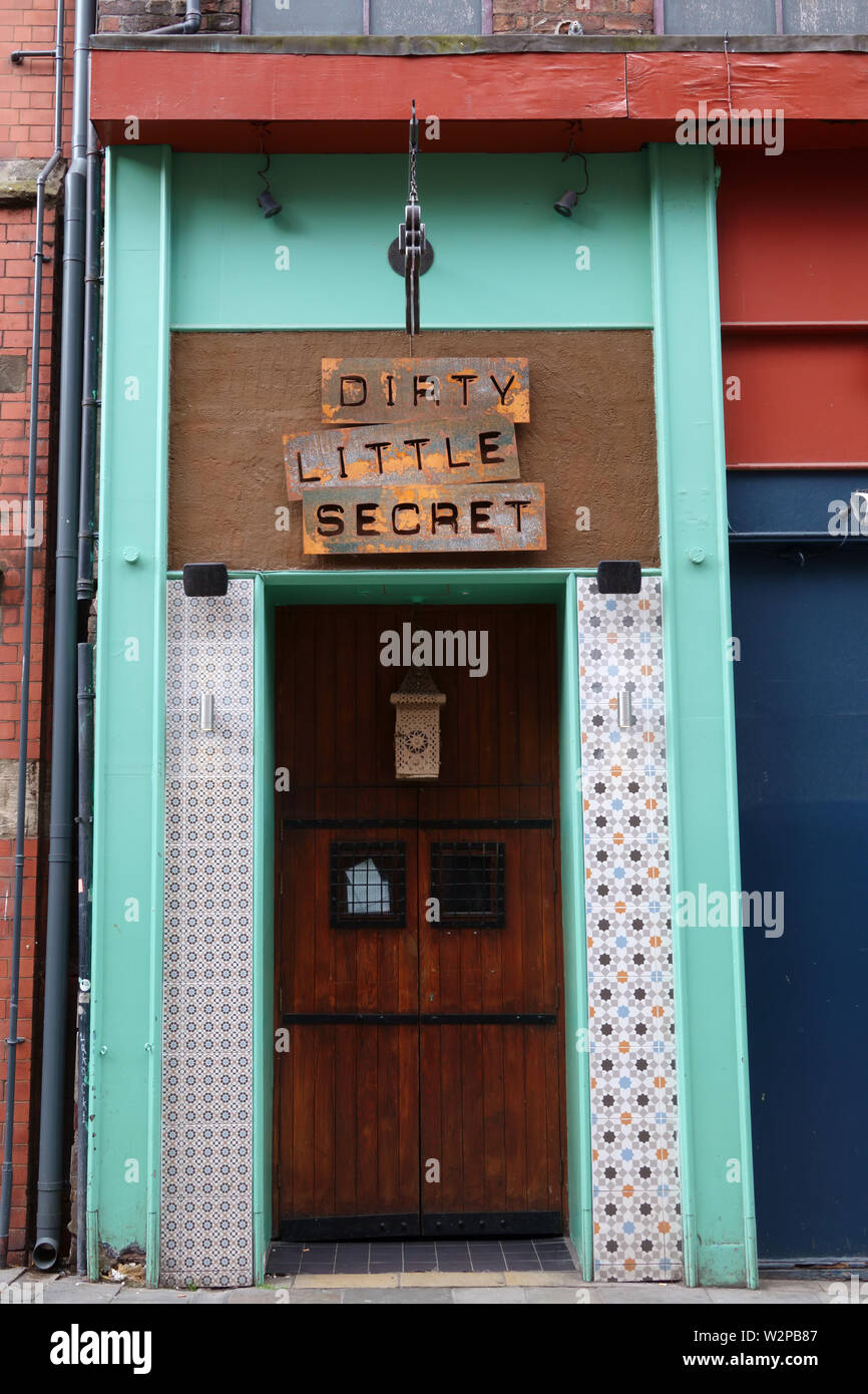 Dirty Little Secret Intimate Cocktail Bar In Wood St Liverpool