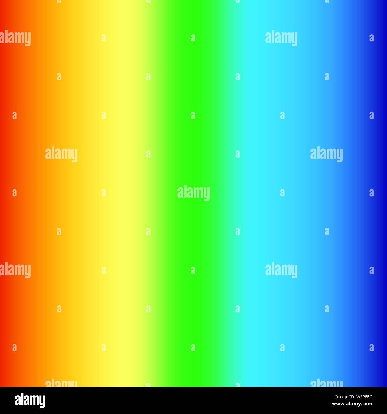Rainbow colors background  Gradient effect  Vector illustration