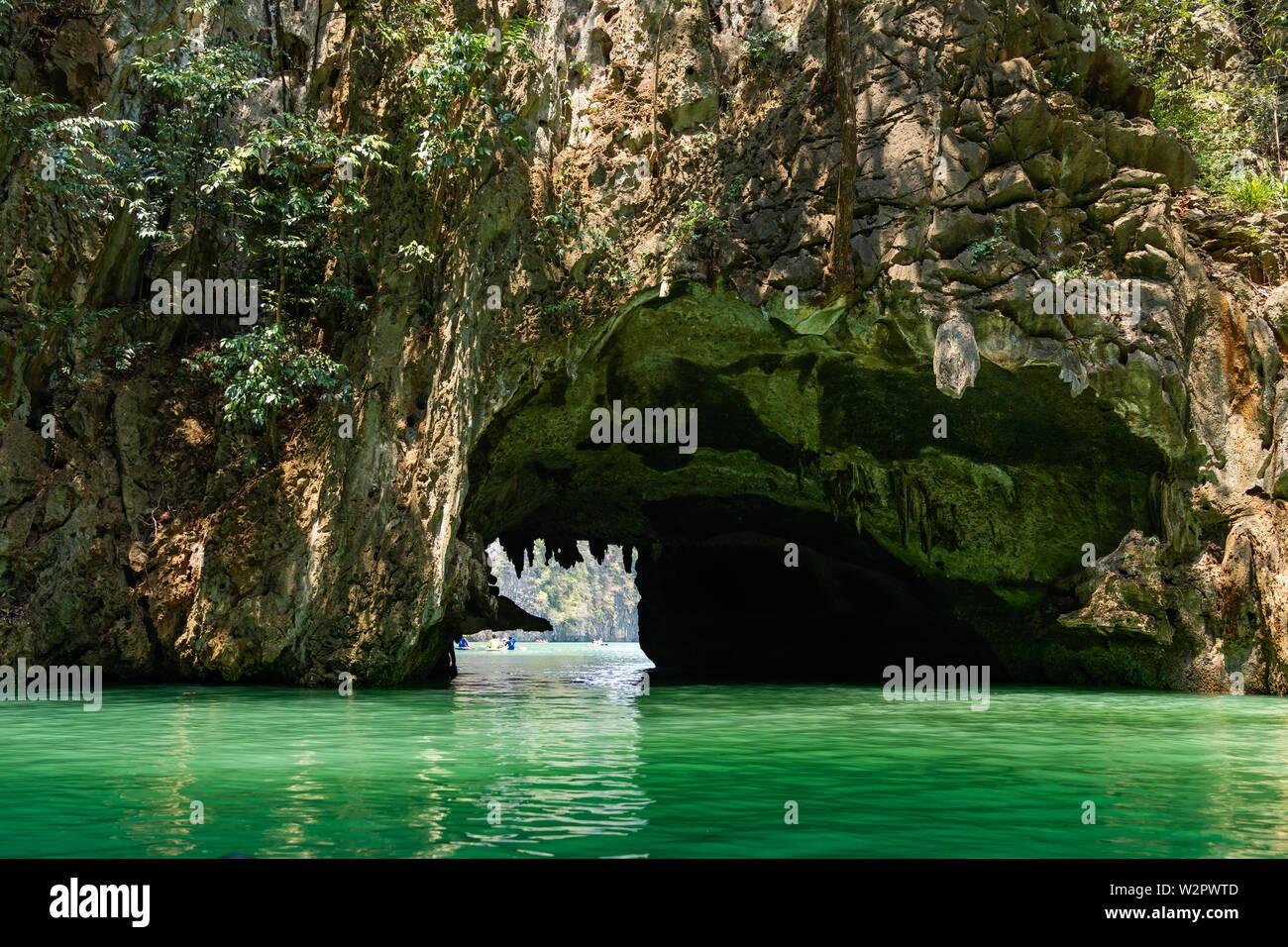 Phang Nga National Park James Bond Island Andaman Thailand