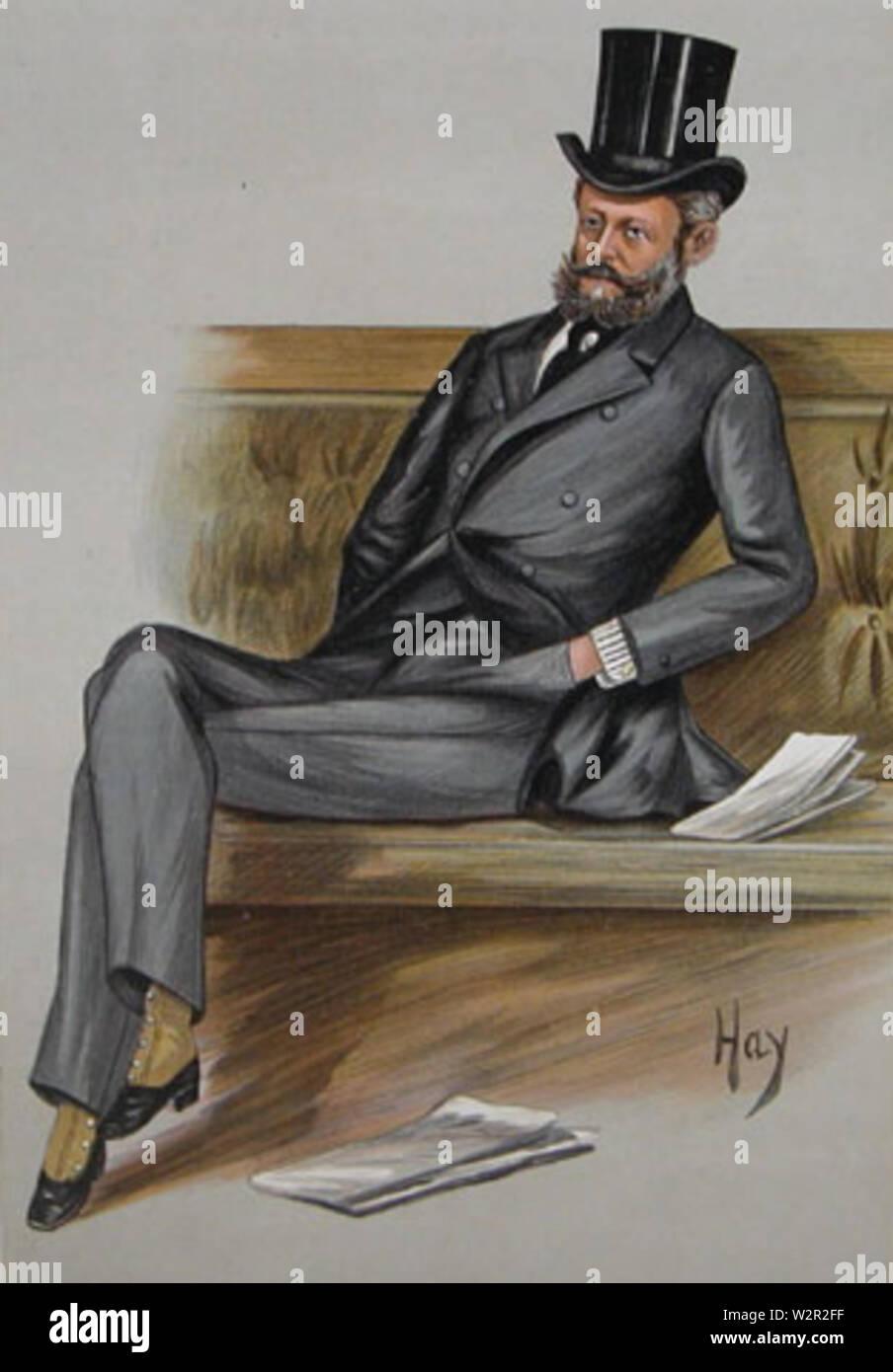Baron Ferdinand de Rothschild - Stock Image