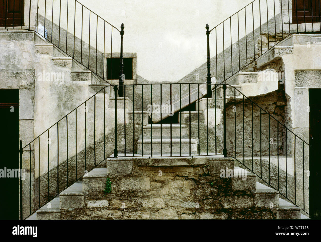 Vignale, ancient architectures in Pescocostanzo - Stock Image