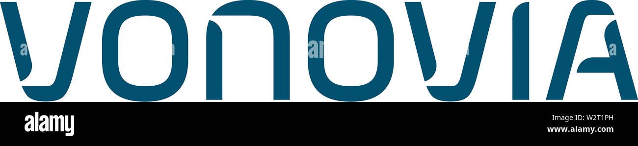 Logo of the German housing company Vonovia SE with based in Bochum - Germany. Stock Photo