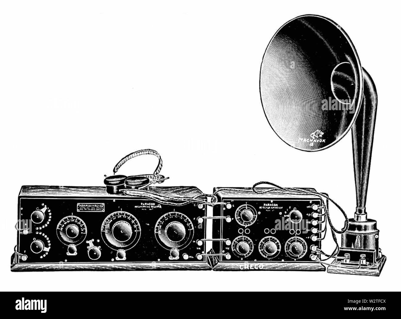 1920s Radio Black And White Stock Photos Images Alamy