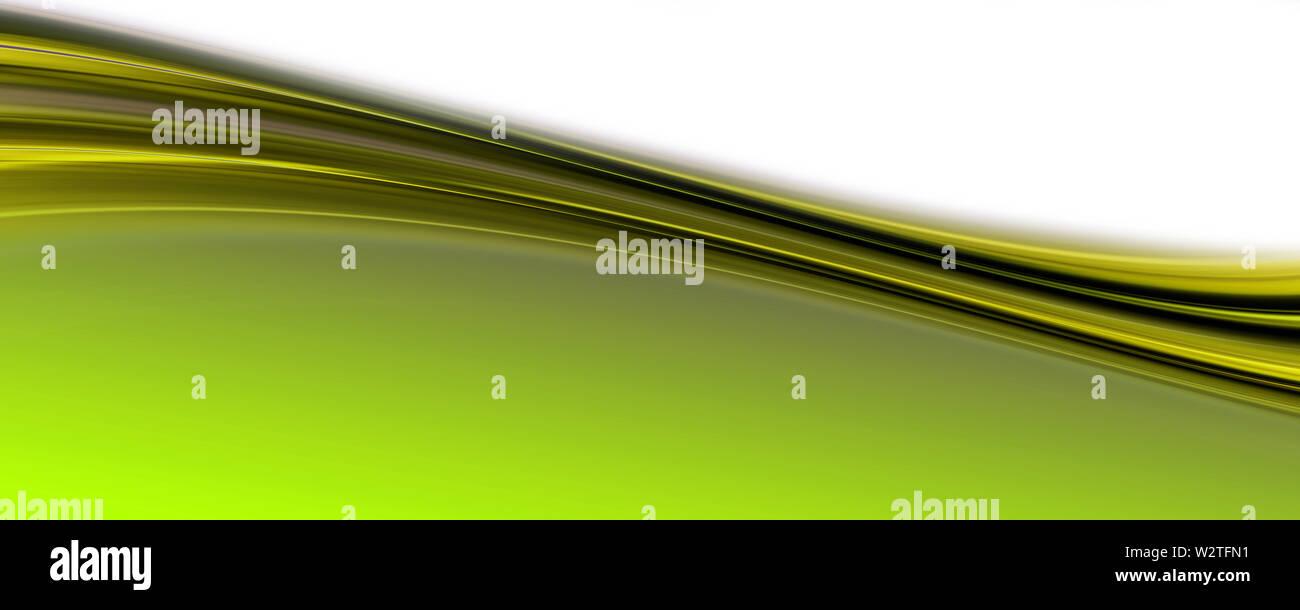 Abstract elegant eco panorama background design illustration - Stock Image