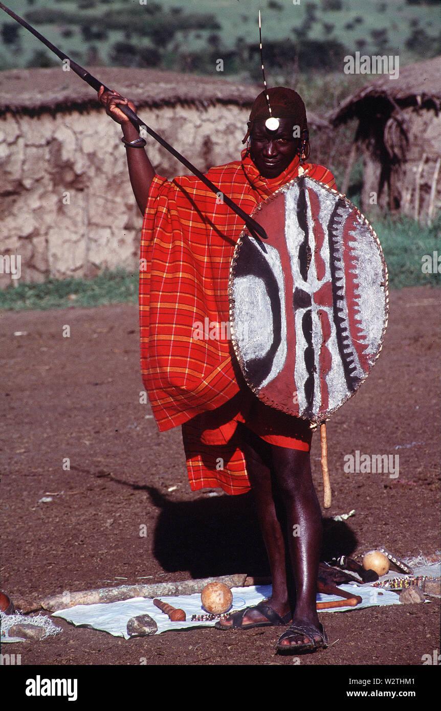 Masai Shield Stock Photos & Masai Shield Stock Images - Alamy