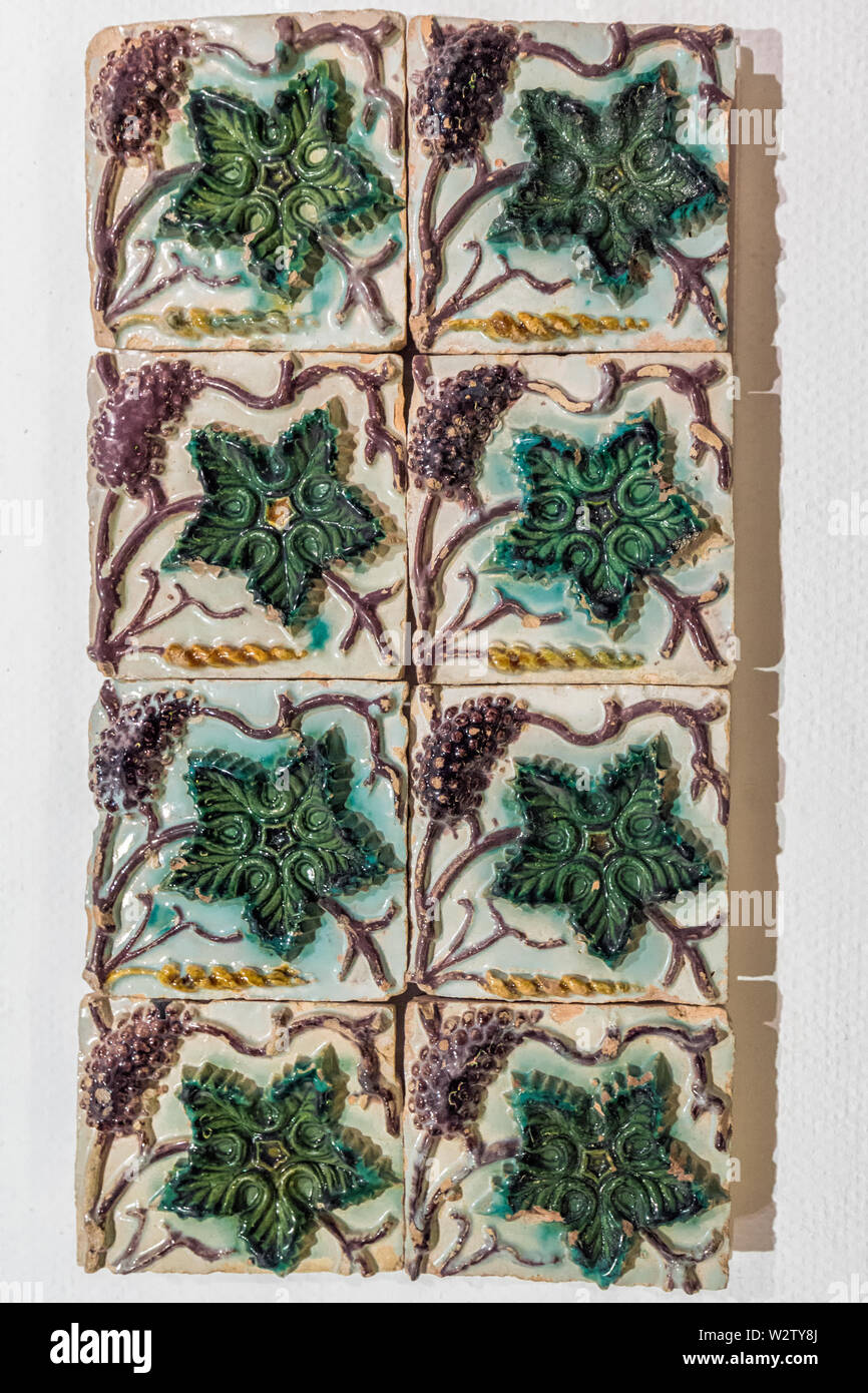 Handmade Ceramic Tiles High Resolution Stock Photography And Images Alamy