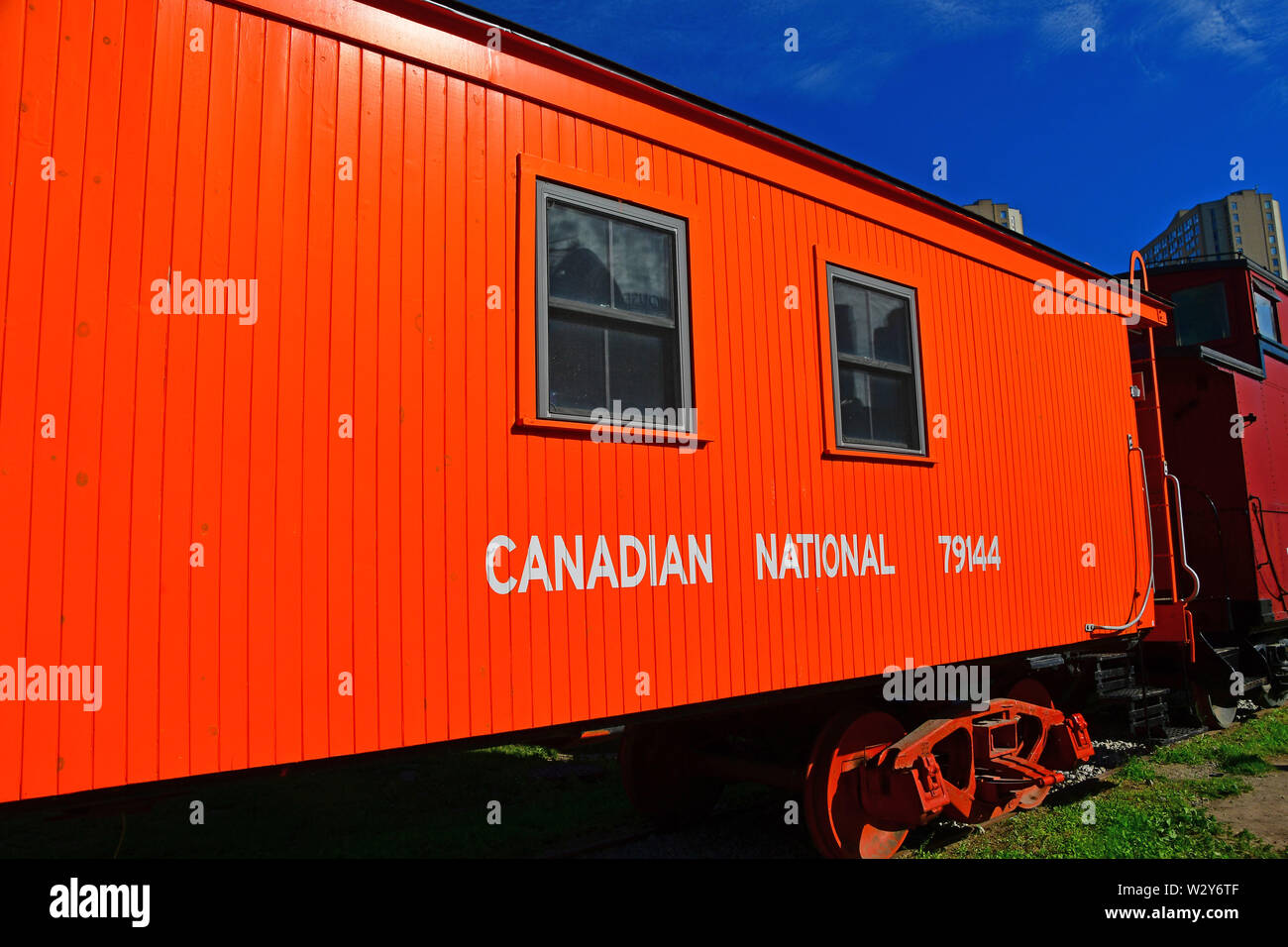 Canadian National Train Stock Photos & Canadian National