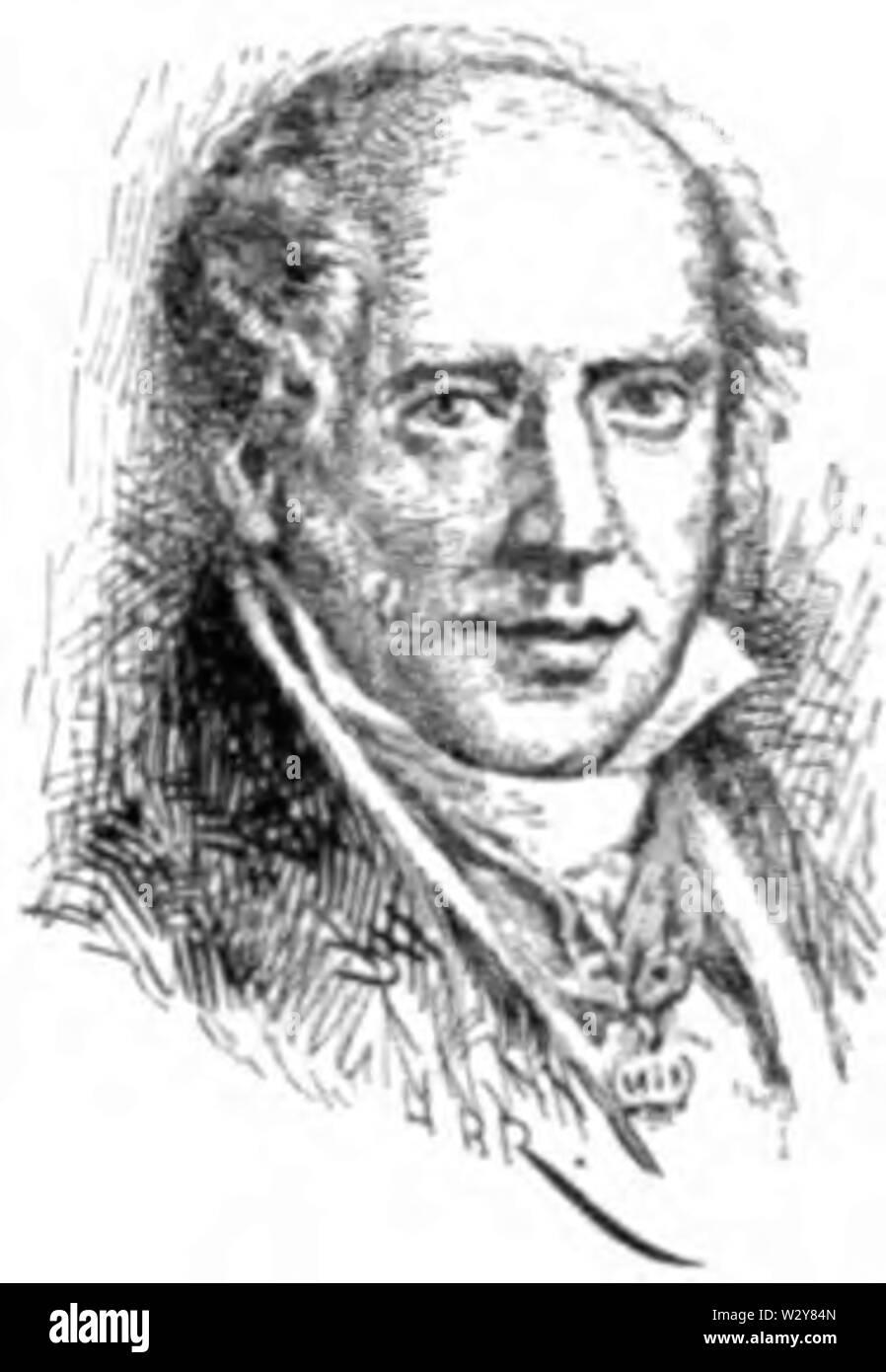 Mayer Amschel Rothschild - The Jewish Encyclopedia 1907 - Stock Image