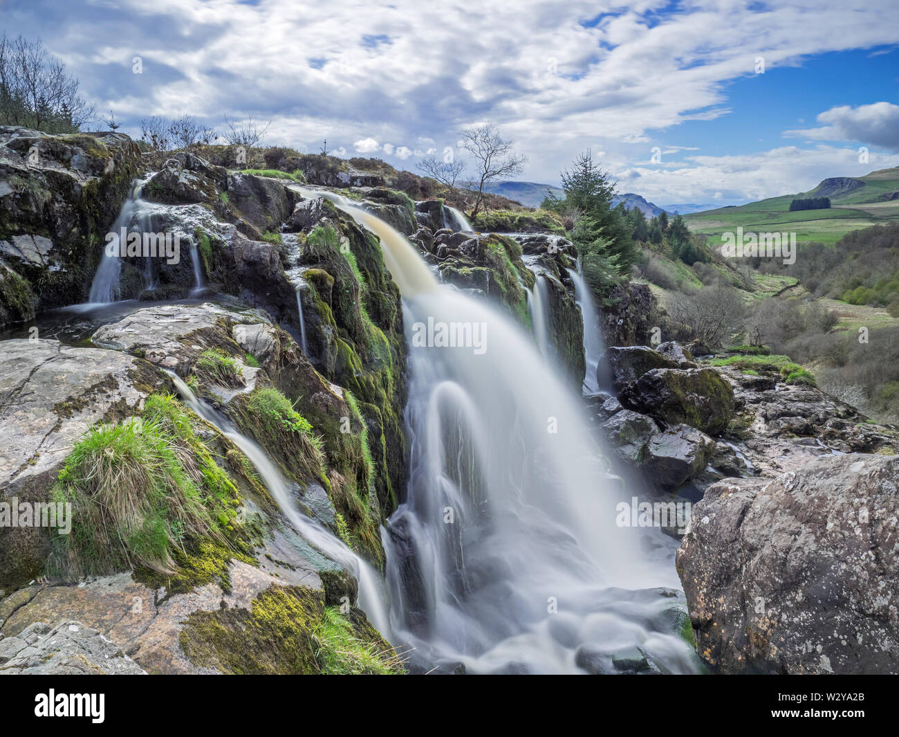 Loup of Fintry - Stock Image