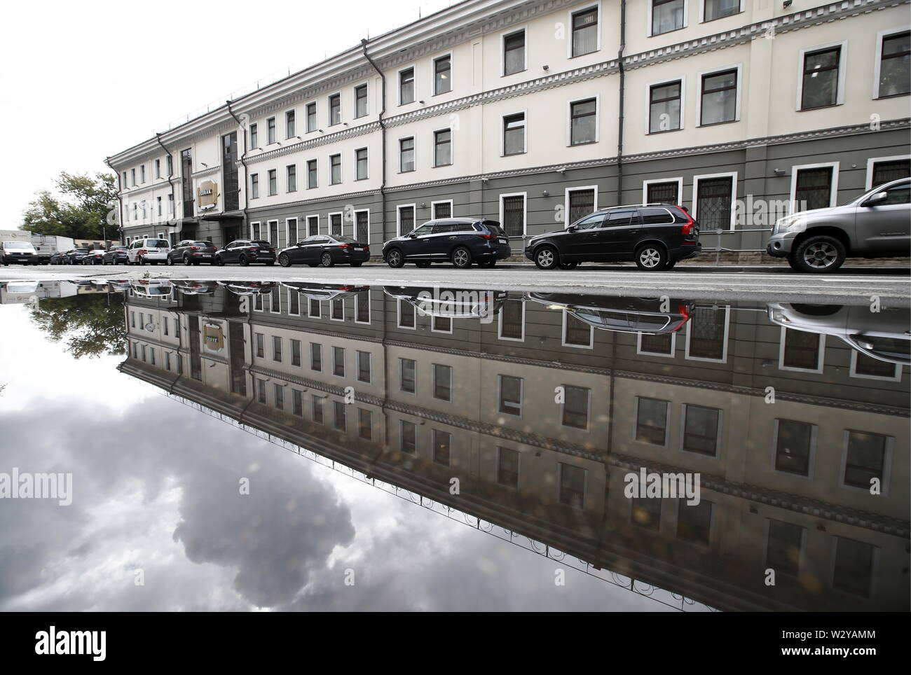 Moscow, Russia. 11th July, 2019. MOSCOW, RUSISA - JULY 11, 2019: A view of the Moscow Printing Factory producing banknotes and owned by Goznak, the enterprise and its branch both celebrating their centenaries in 2019. Artyom Geodakyan/TASS Credit: ITAR-TASS News Agency/Alamy Live News - Stock Image
