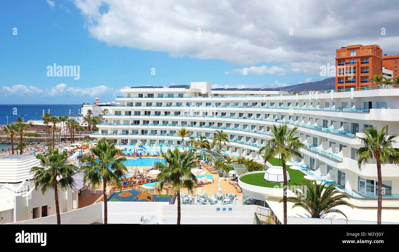 La Pinta Beachfront Family Hotel Tenerife Spain Grand Resort With Family Facilities Based In Costa Adeje And Privately Owned By Hovima Company Stock Photo Alamy