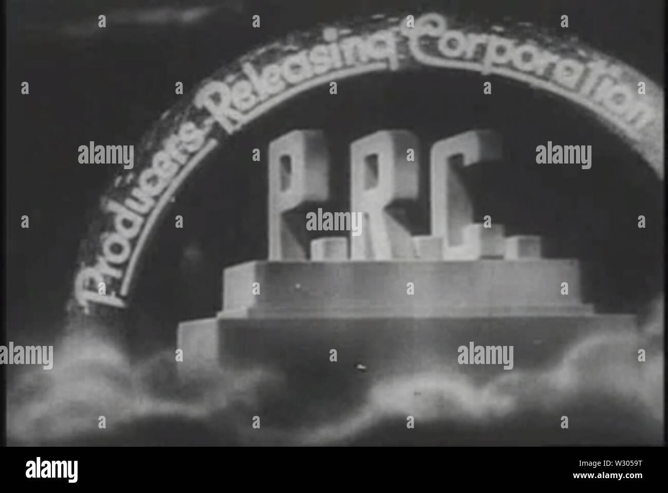 PRC logo 1940 - Stock Image