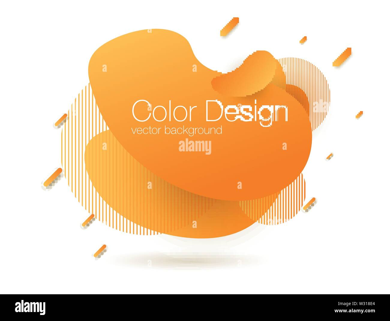 Abstract blend background. Template for web site - Stock Image