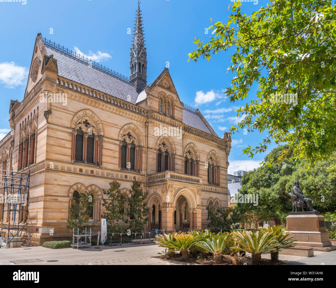 The Mitchell Building at the University of Adelaide, North Terrace, Adelaide, South Australia, Australia Stock Photo