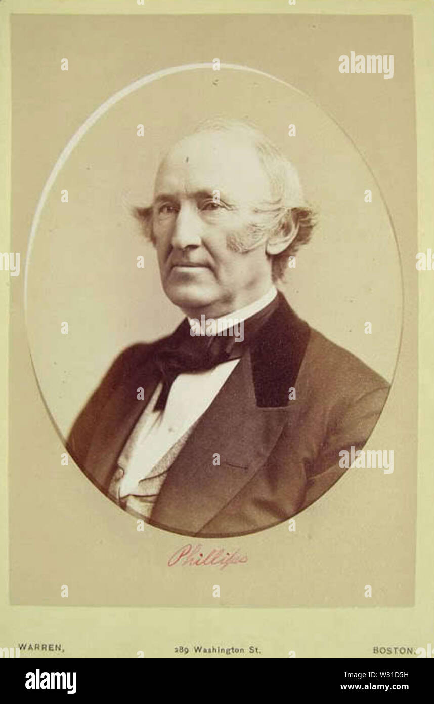 Phillips by Warren of 289 Washington Street in Boston - Stock Image