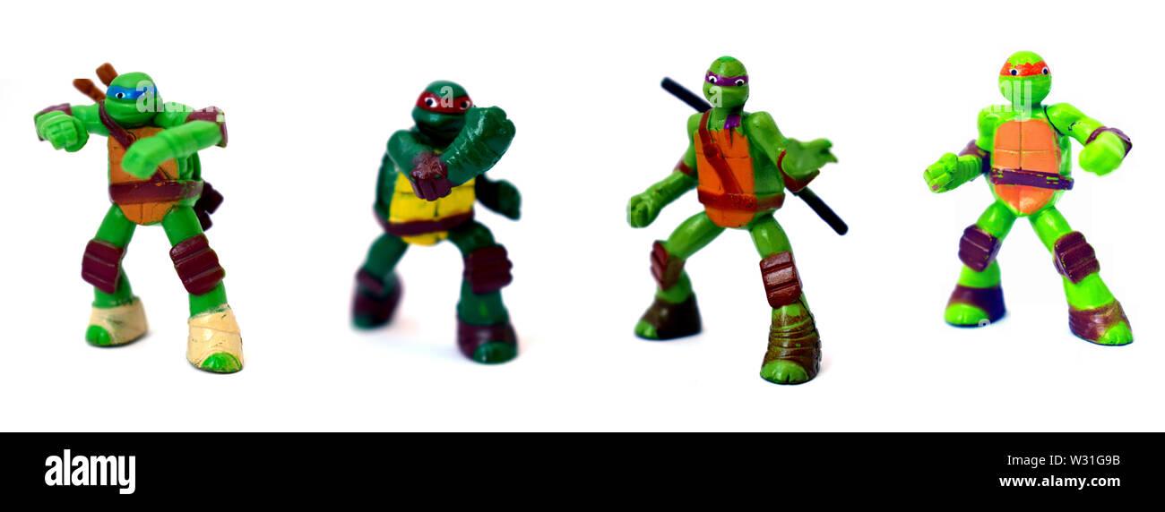 Ninja Turtles - Stock Image