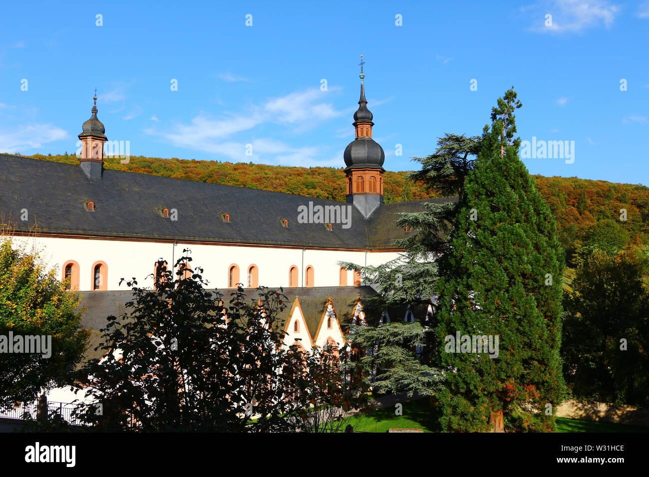 Kloster Eberbach in der Nähe von Eltville am Rhein im Rheingau in Hessen, in Deutschland - Stock Image