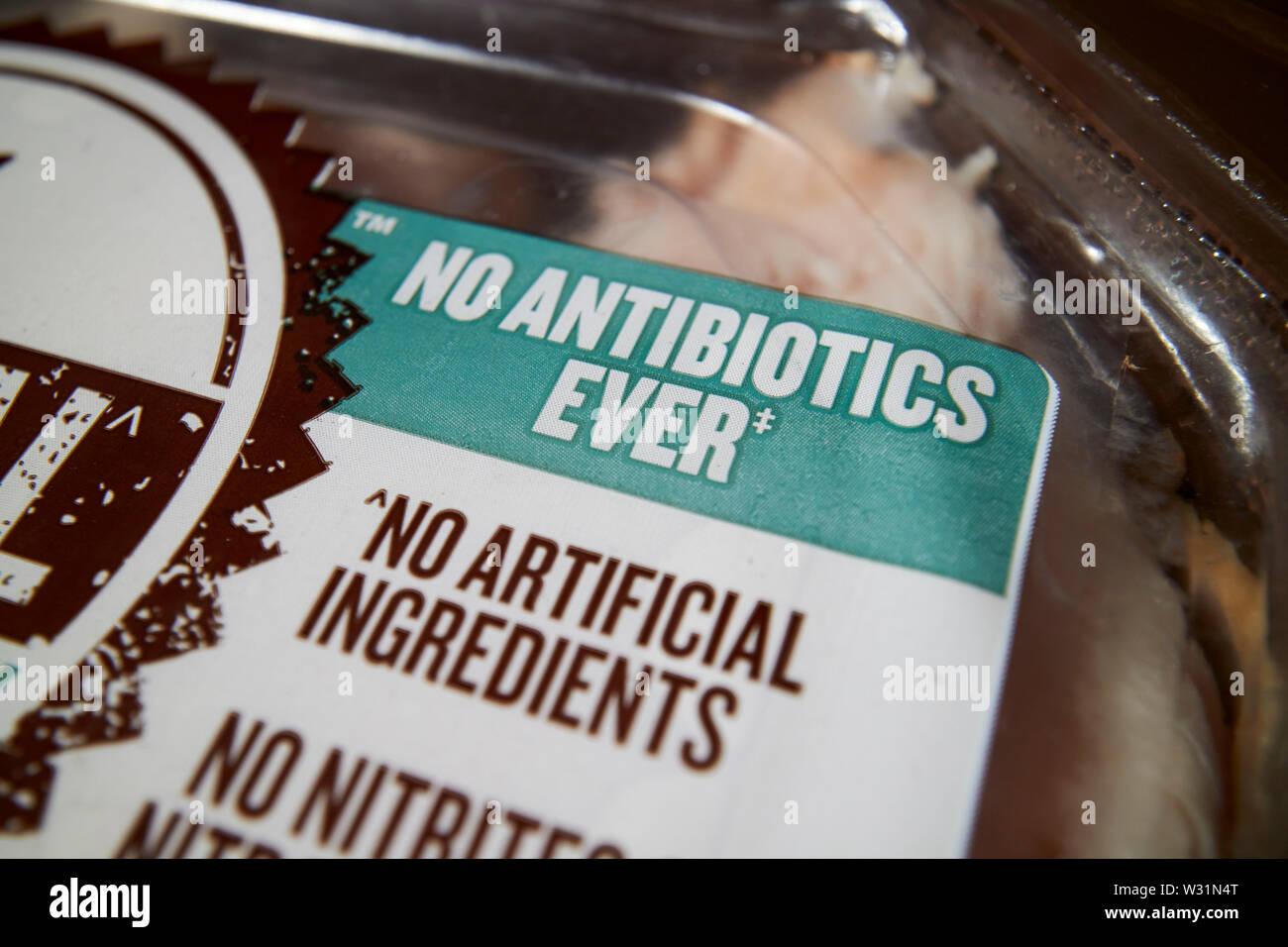 no antibiotics ever no artificial ingredients food labelling