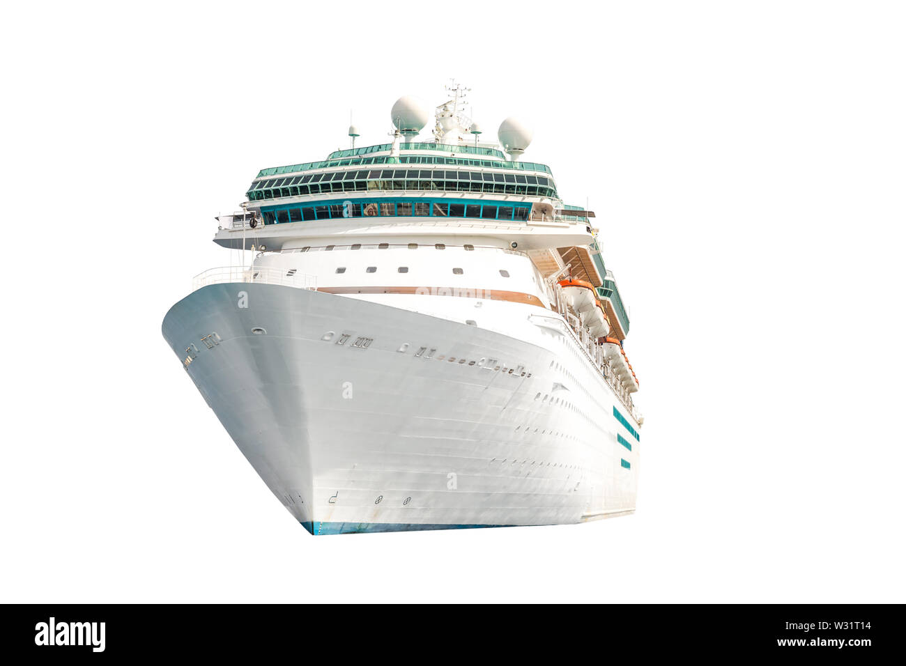 Cruise Ship Cut Out Stock Images & Pictures - Alamy