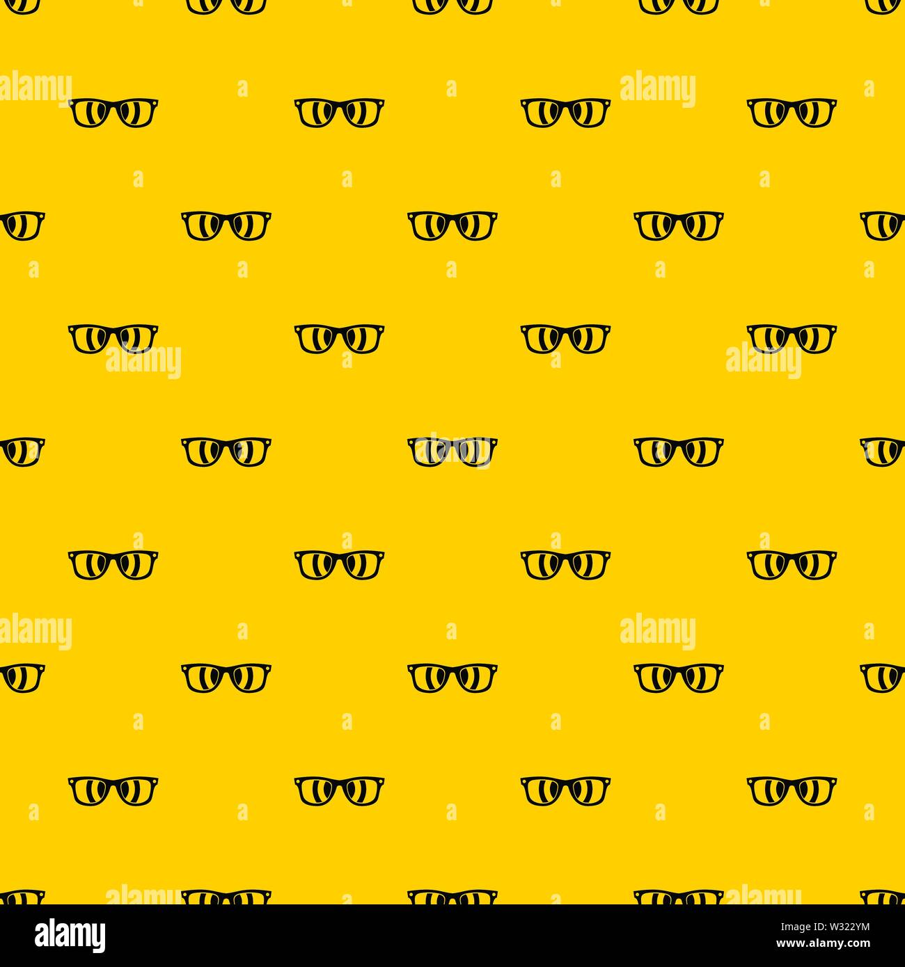 Sunglasses pattern vector - Stock Image