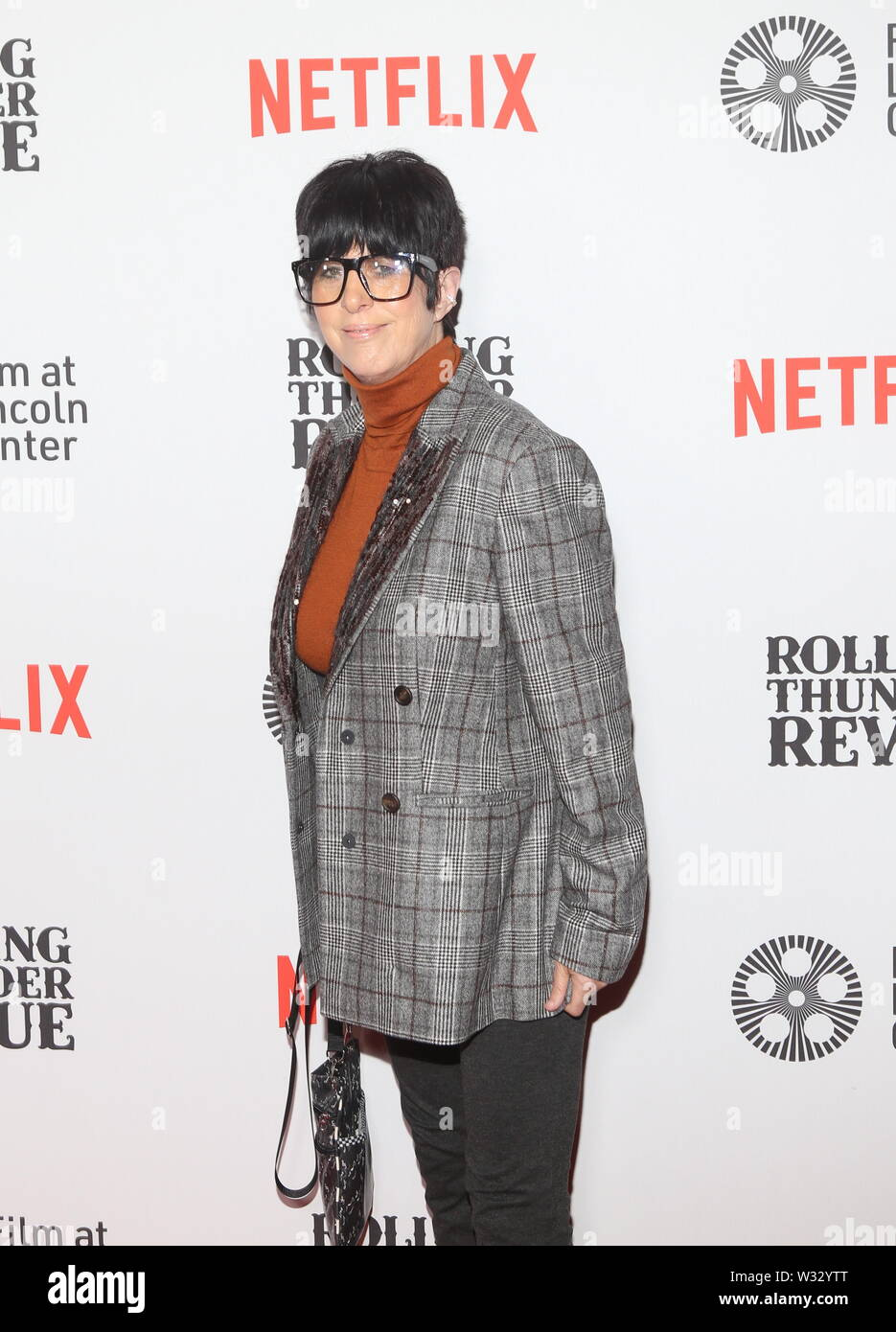 Netflix New York Special Screening of Rolling Thunder Revue: A Bob Dylan Story Held at Alice Tully Hall Featuring: Diane Warren Where: New York, New York, United States When: 11 Jun 2019 Credit: Derrick Salters/WENN.com - Stock Image