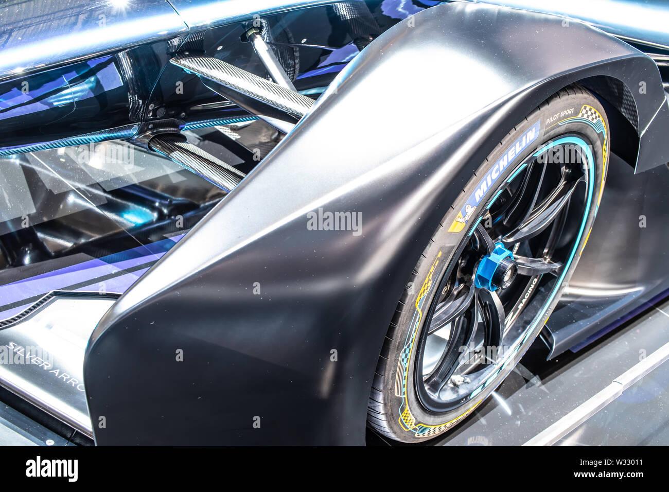 Mercedes Benz Concept Cars Stock Photos & Mercedes Benz