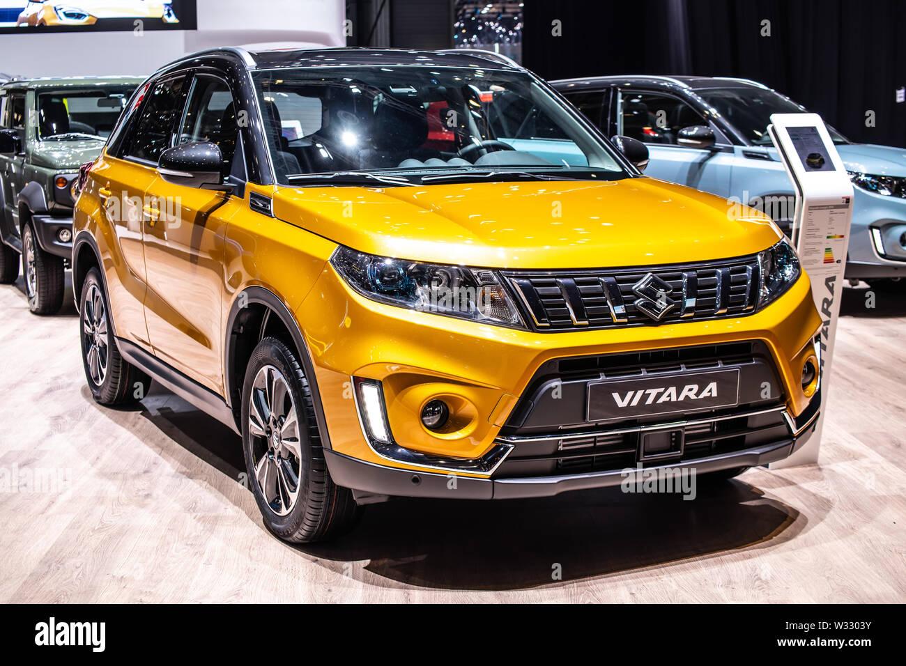 Suzuki Vitara Stock Photos & Suzuki Vitara Stock Images - Alamy