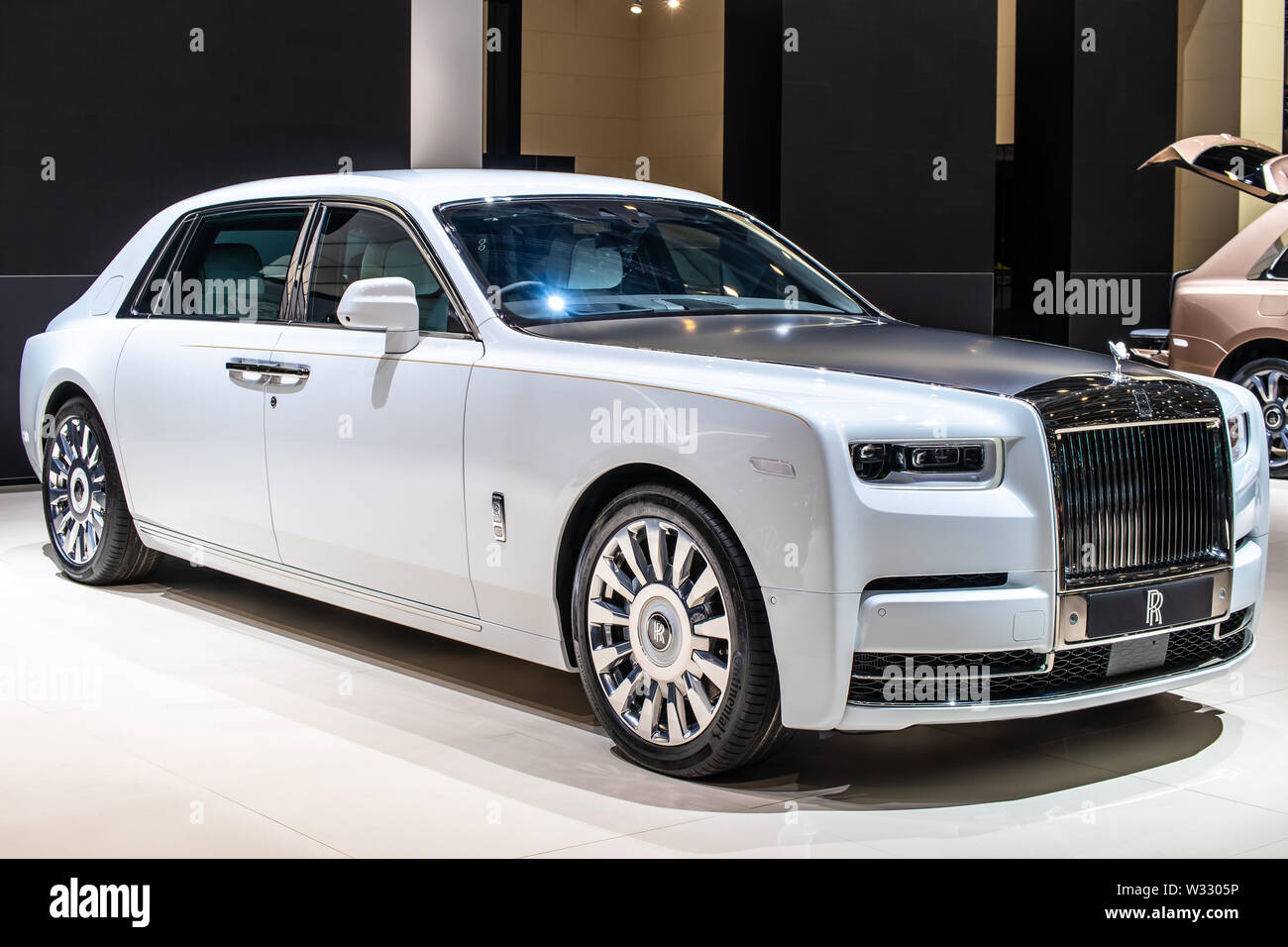 Rolls Royce Phantom High Resolution Stock Photography And Images Alamy