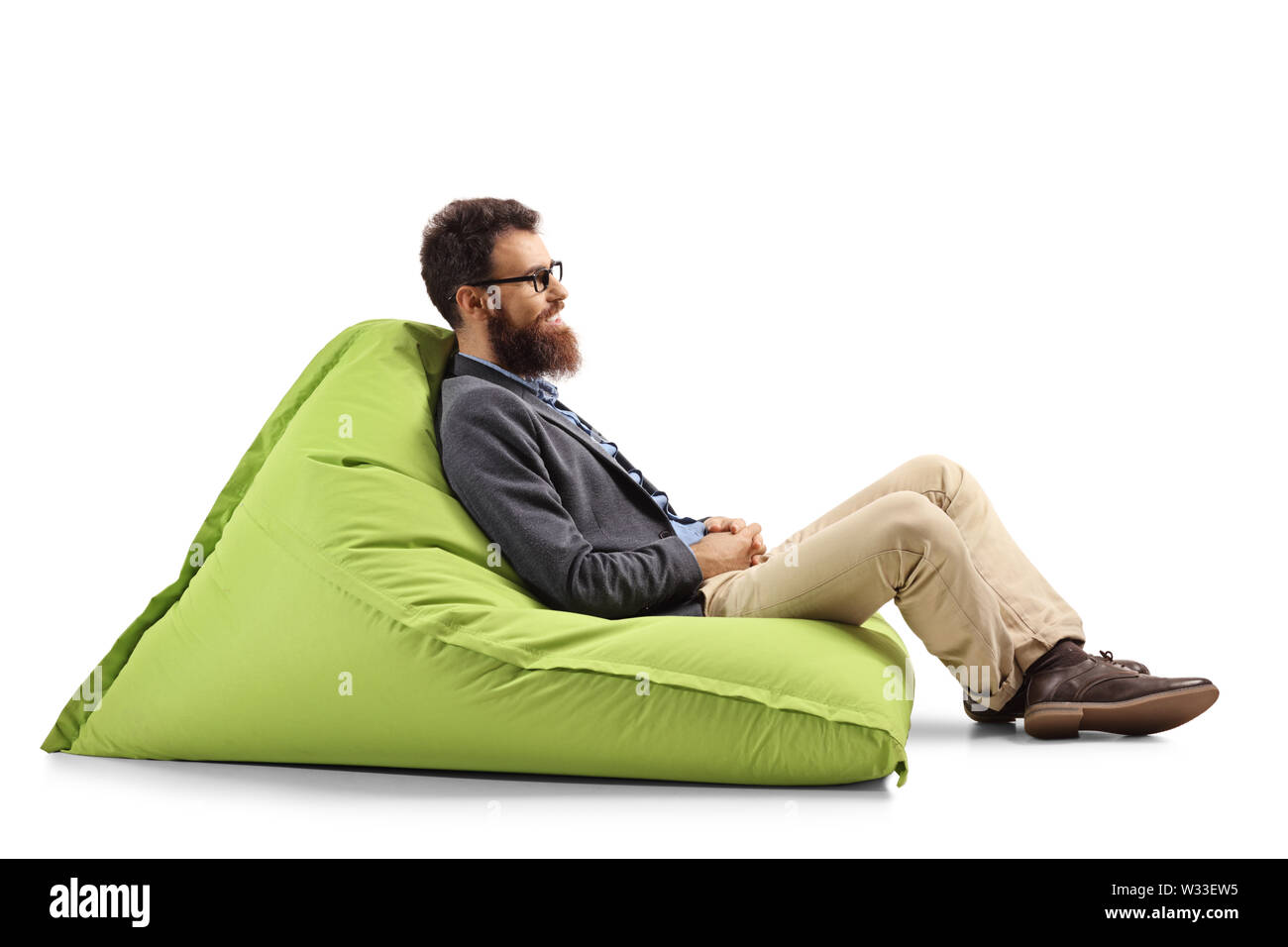 Marvelous Bean Bag Chair Cut Out Stock Images Pictures Alamy Caraccident5 Cool Chair Designs And Ideas Caraccident5Info