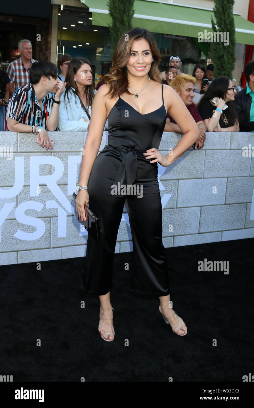 """""""Murder Mystery"""" Premiere at the Village Theater on June 10, 2019 in Westwood, CA Featuring: Sandra Gutierrez Where: Westwood, California, United States When: 11 Jun 2019 Credit: Nicky Nelson/WENN.com Stock Photo"""