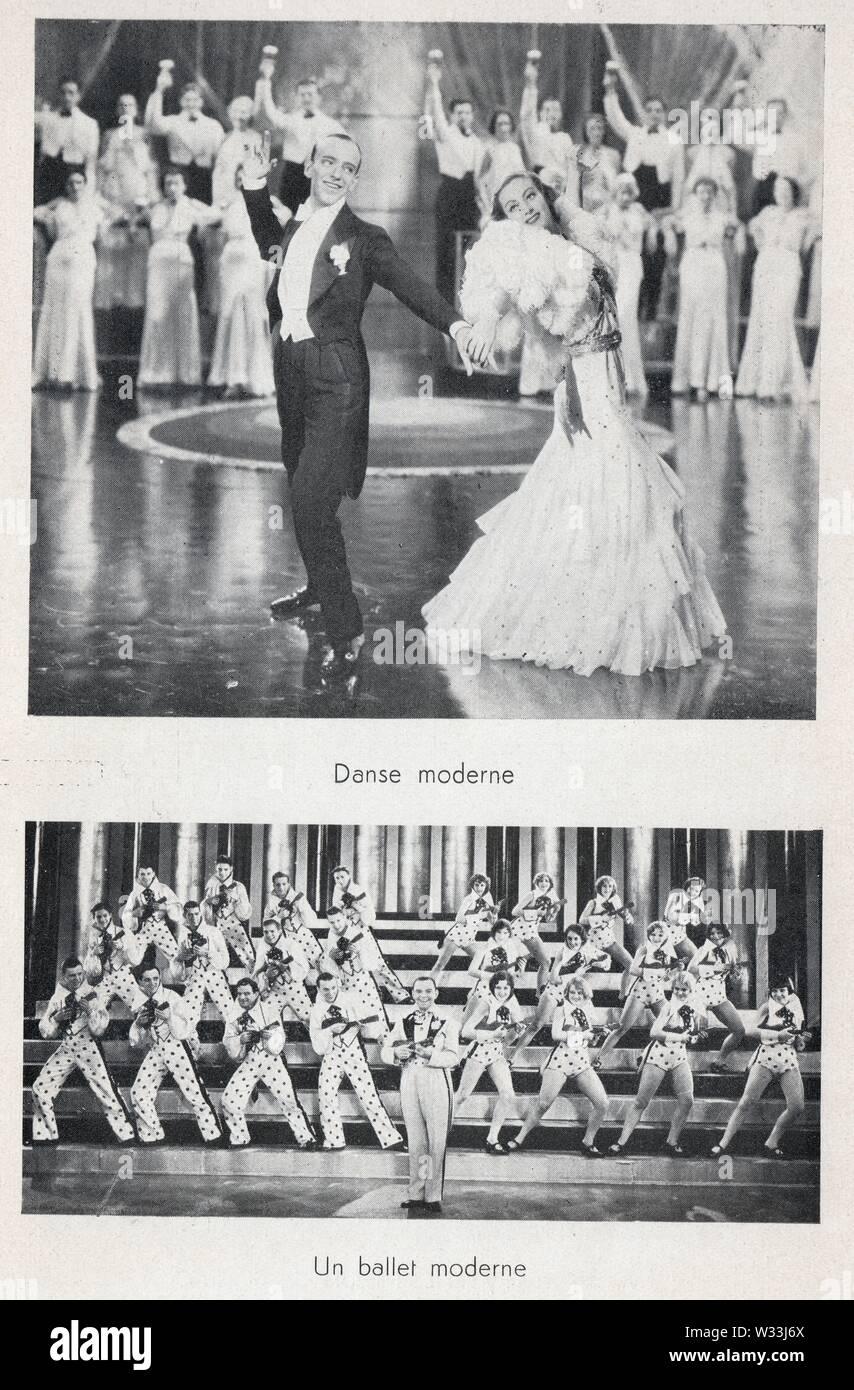 DANSE MODERNE.BALLET MODERNE - Stock Image