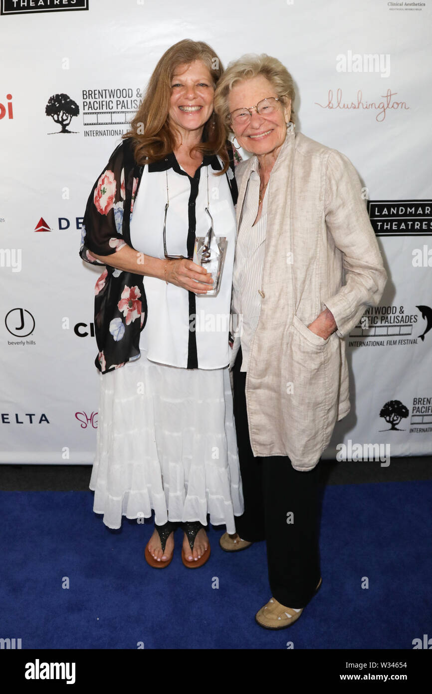 Brentwood & Pacific Palisades International Film Festival at the Landmark Theatre in Los Angeles, California on June 10, 2019 Featuring: Eliza Roberts, Lila Garrett (mother) Where: Los Angeles, California, United States When: 10 Jun 2019 Credit: Sheri Determan/WENN.com - Stock Image